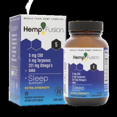 Sleep CBD Hemp Extract - 30 Capsules