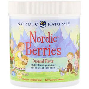 Nordic Berries Multivitamin Gummies - 120 Gummies