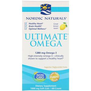 Ultimate Omega 2x Lemon - 60 Mini Softgels