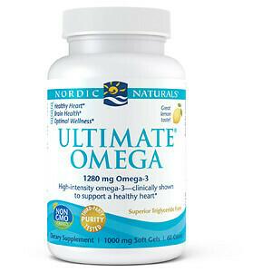 Ultimate Omega High Intensity Lemon - 60 Softgels