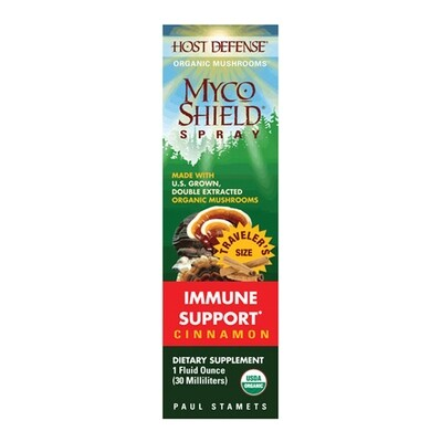MycoShield Immune Support Spray Cinnamon - 1 oz