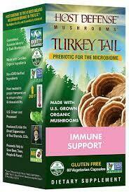 Turkey Tail Immune Support - 60 Capsules