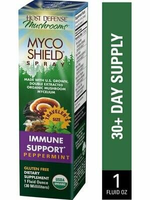MycoShield Immune Support Spray Peppermint - 1 oz
