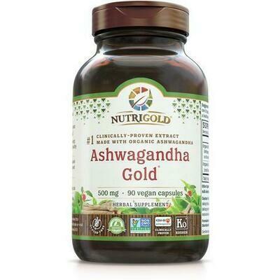Ashwagandha Gold 500 mg - 90 Capsules