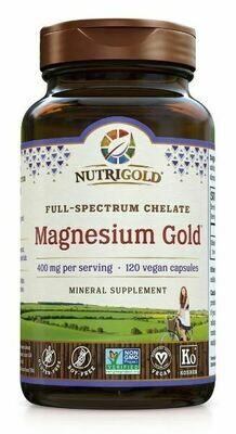 Magnesium Gold 400 mg - 120 Capsules