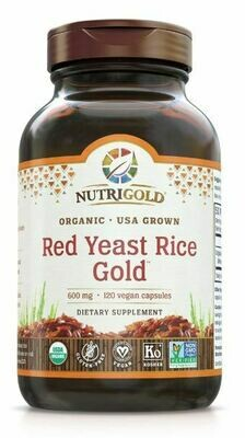 Red Yeast Rice Gold 120 Capsules