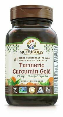 Turmeric Curcumin Gold - 60 Capsules