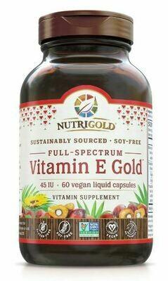 Vitamin E Gold - 60 Capsules