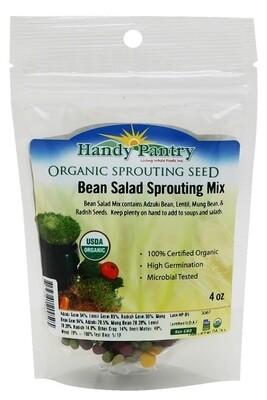 Handy Pantry Sprouting Seed Bean Salad Organic - 4 oz