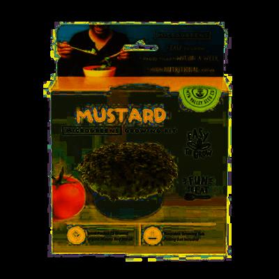 Microgreens Growing Kit Mustard