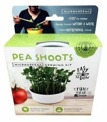 Microgreens Growing Kit Pea Shoots