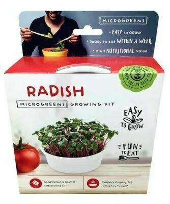 Microgreens Growing Kit Radish