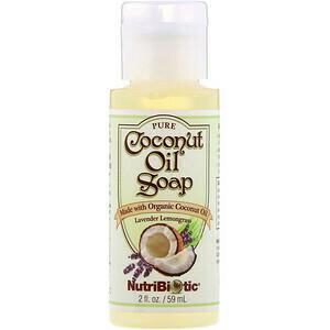 Coconut Oil Soap Lavender Lemongrass - 2 oz