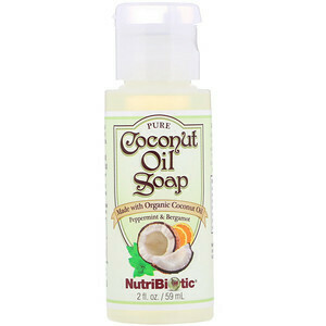 Coconut Oil Soap Peppermint & Bergamot - 2 oz