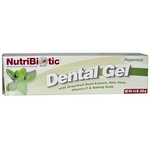 Dental Gel Plus Grapefruit Seed Extract Peppermint - 4.5 oz