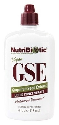 GSE Grapefruit Seed Extract Liquid Concentrate - 4 oz