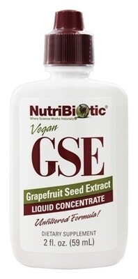 GSE Grapefruit Seed Extract Liquid Concentrate - 2 oz