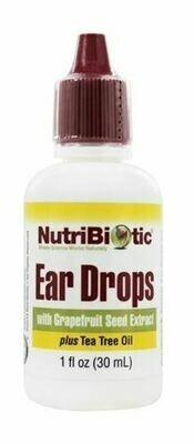 Ear Drops with Grapefruit Seed Extract plus Tea Tree Oil - 1 oz