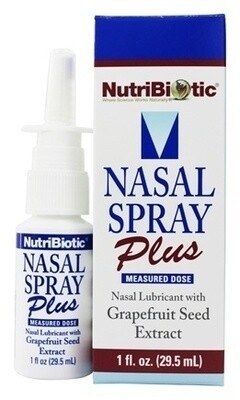 Nasal Spray PLUS with Grapefruit Seed Extract - 1 oz