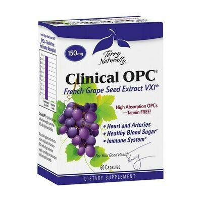 Clinical OPC French Grape Seed Exttract -  60 Capsules