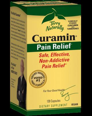 Curamin Pain Relief - 120 Capsules