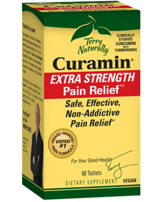 Curamin Extra Strength Pain Relief - 60 Tablets