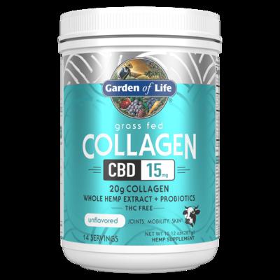 Grass Fed Collagen CBD Powder - 287 g