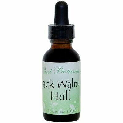 Black Walnut Hull Extract - 1 oz