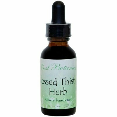 Blessed Thistle Herb Extract - 1 oz