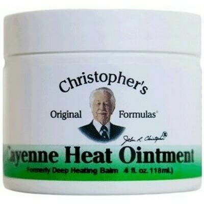 Cayenne Heat Ointment - 4 oz