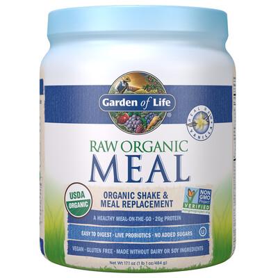 Raw Organic Meal Shake & Meal Replacement Vanilla - 17.1 oz