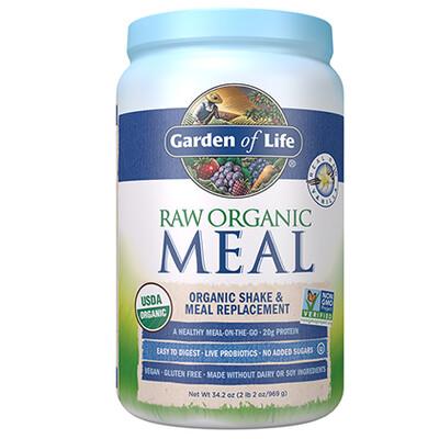 Raw Organic Meal Shake & Meal Replacement Vanilla - 34.2 oz