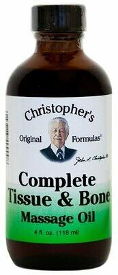 Complete Tissue & Bone Massage Oil - 4 oz