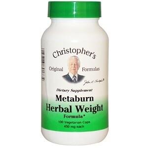 Metaburn Herbal Weight Formula - 100 ct.