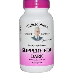 Slippery Elm Bark - 100 Capsules