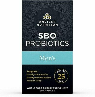SBO Probiotics Men's Formula - 90 Capsules