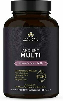 Ancient Multi Women's Multi Once Daily Formula - 30 Capsules