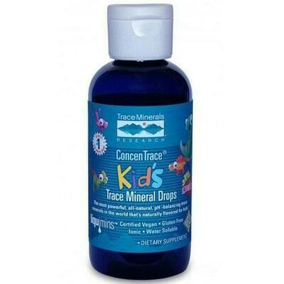 ConcenTrace®  Kid's Trace Mineral Drops Strawberry - 0.5 oz