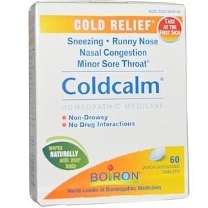 ColdCalm® Tablets 60 ct.