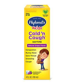 4 Kids Cold N Cough Grape Flavor - 4 oz