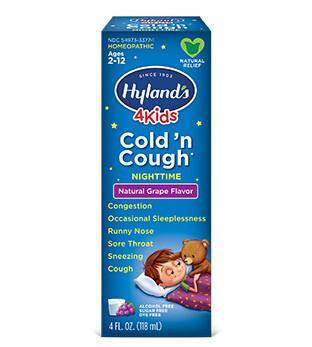 4 Kids Cold N Cough Grape - 4 oz
