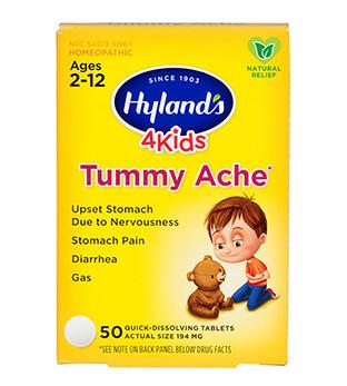 4 Kids Tummy Ache - 50 Tablets