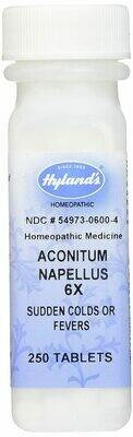 Aconitum 6X - 250 tablets