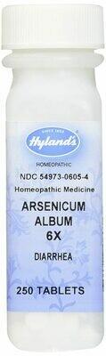 Arsenicum Album 6X - 250 Tablets