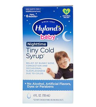 Baby Nighttime Tiny Cold Syrup - 4 fl oz