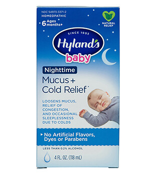 Baby Nighttime Mucus and Cold Relief - 4 oz