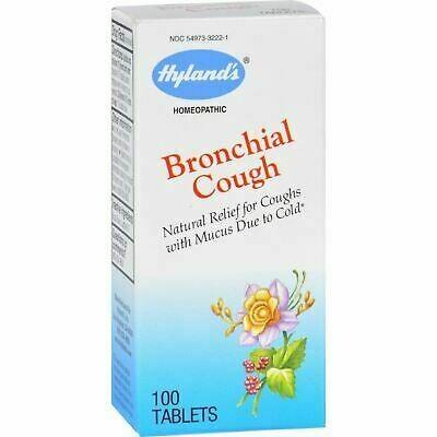 Bronchial Cough - 100 Tablets