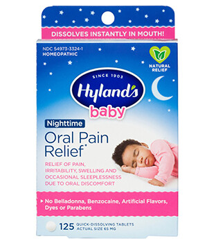 Baby Oral Pain Relief Nighttime - 125 Tablets