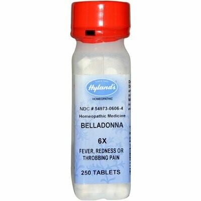 Belladonna 6x - 250 Tablets