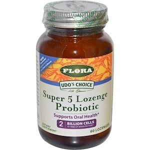 Super 5 Lozenge Probiotic - 61950 - 60 lozenges